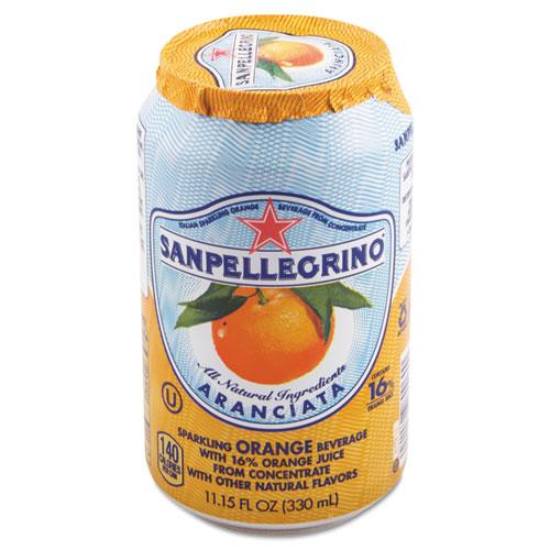 San Pellegrino® Sparkling Fruit Beverages, Pompelmo (Grapefruit), 11.15 oz Can, 12/Carton