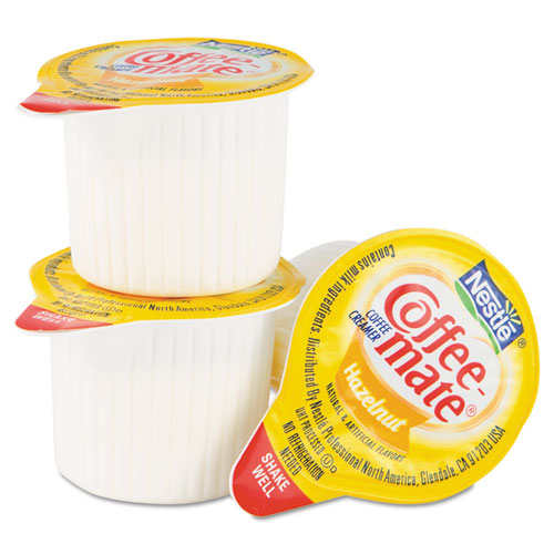 Coffee-mate® Hazelnut Creamer, .375oz, 50/Box