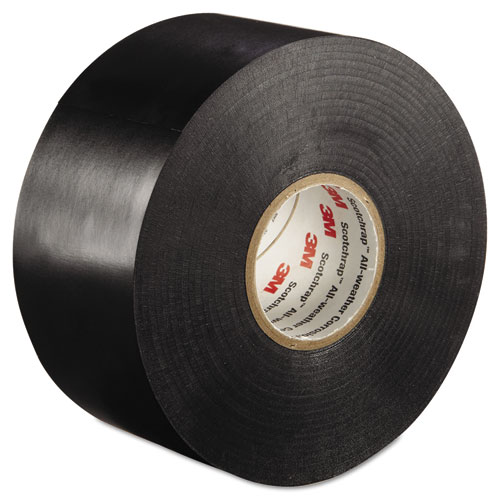 Scotchrap All-Weather Corrosion Protection Tape, 2 x 100 ft, Black