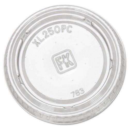 Portion Cup Lids, Fits 1.5-2.5oz Cups, Clear XL250PC