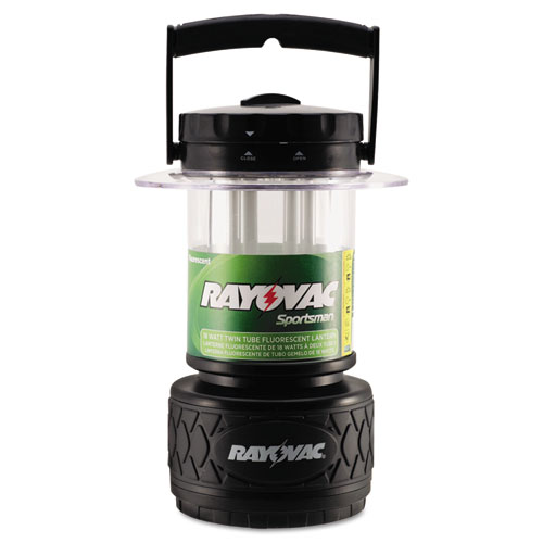 Rayovac® Lantern, Fluorescent Bulb, Black