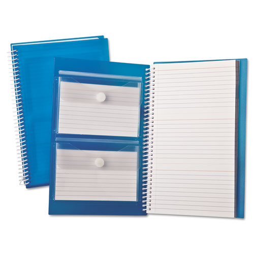 Index Card Notebook, Ruled, 3 x 5, White, 150 Cards per Notebook | by Plexsupply