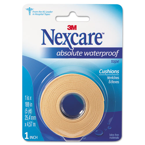 Absolute Waterproof First Aid Tape, Foam, 1 x 180