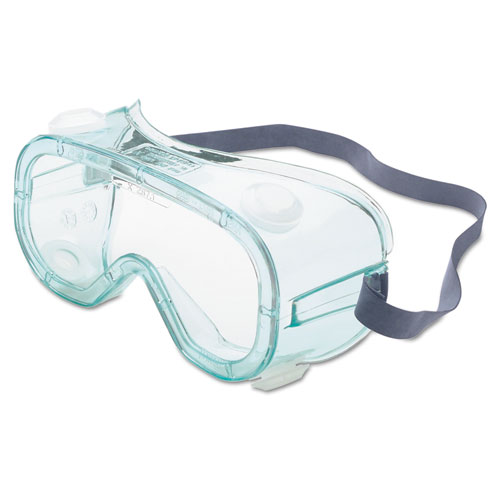 Honeywell A610S Safety Goggles, Indirect Vent, Green-Tint Fog-Ban Lens