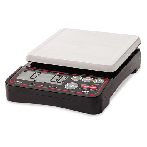 Pelouze Digital Portioning Scale, 2 lb Capacity, 5 1/10in. x 5 1/10in. Platform 1812588