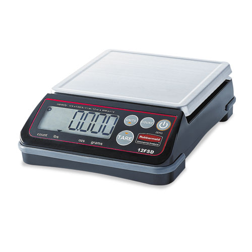 Pelouze Digital Portioning Scale, 12 lb Capacity, 6 2/5in. x 5 4/5in., Platform 1812591