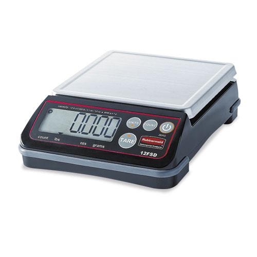 Pelouze Digital Portioning Scale, 12 lb Capacity, 6 2/5in. x 5 4/5in., Platform 1812591