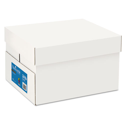 Platinum Paper, 99 Bright, 24lb, 12 x 18, White, 500 Sheets/Ream, 5 Reams/Carton | by Plexsupply