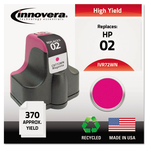 Innovera® Remanufactured C8772WN (02) Ink, Magenta