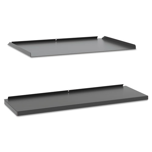 Manage Series Shelf And Tray Kit Steel 17 1 2w X 9d 1h Ash