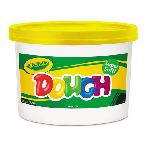 Modeling Dough Bucket, 3 lbs, Yellow