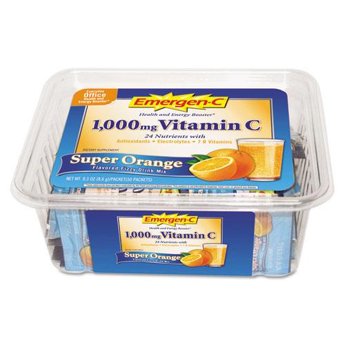 Emergen-C® Immune Defense Drink Mix, Super Orange, .3oz Packet, 50/Pack
