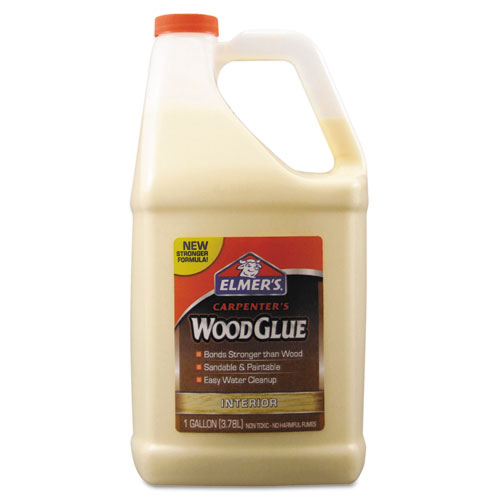 Elmer S Carpenter Wood Glue Beige Gallon Bottle Lexon