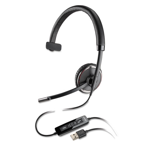 Blackwire C510 Monaural Over-the-Head Corded Headset C510