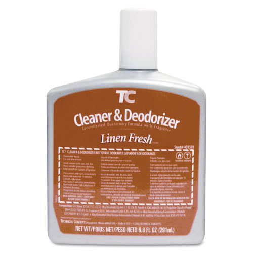 Rubbermaid® Commercial AutoClean Toilet Cleaner & Deodorizer Refill, Linen Fresh, 9.8oz Refill, 6/CT
