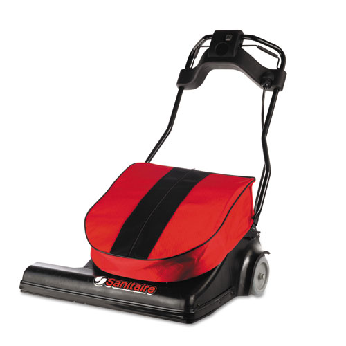 SPAN Wide Area Vacuum, 28 Cleaning Path, 74 lbs, Red
