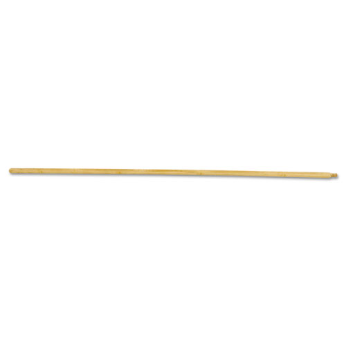 Threaded End Broom Handle, Lacquered Hardwood, 15/16 dia x 54, Natural | by Plexsupply
