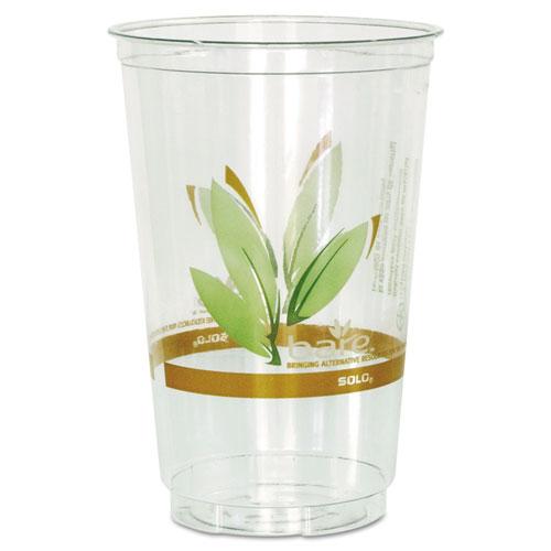 Bare RPET Cold Cups, Leaf Design, 20 oz, 50/Pack, 20 Packs/Carton RTN20BARE
