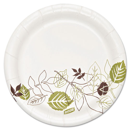 Pathways Soak Proof Shield  Heavyweight Paper Plates, 5 7/8, 500/Carton