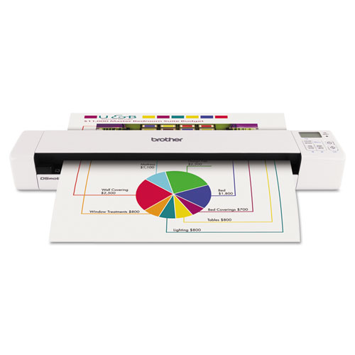 DS820W Wireless Mobile Color Page Scanner