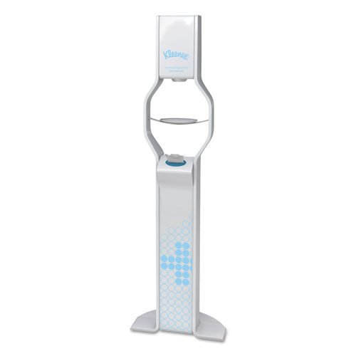"Refresh Stand, 14"" w x 7 7/8"" d x 65 3/4"" h, White"