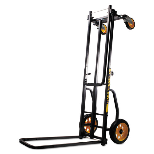 Multi-Cart 8-in-1 Cart, 500 lb Capacity, 33.25 x 17.25 x 42.5, Black | by Plexsupply