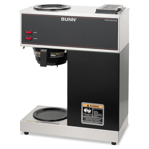 Bunn Coffee Maker Not Getting Power : BUNN VPR Two Burner Pourover Coffee Brewer, Stainless Steel, Black BUNVPR iBuyOfficeSupply