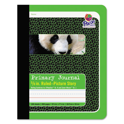 Pacon® Primary Journal, Pitman Rule, 9.75 x 7.5, 100 Sheets