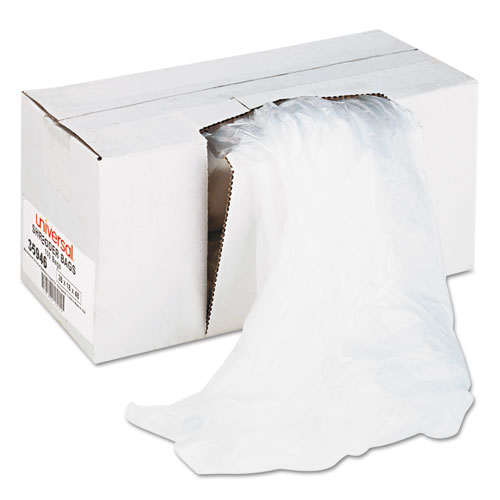 High-Density Shredder Bags, 40-45 gal Capacity, 100/Box | by Plexsupply