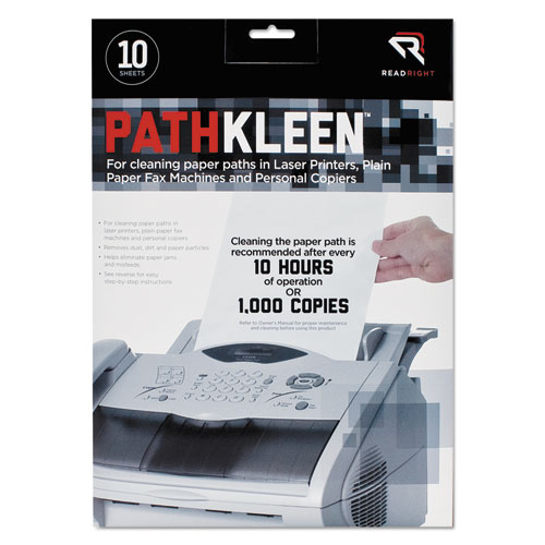 PathKleen Sheets, 8 1/2 x 11, 10/Pack | by Plexsupply