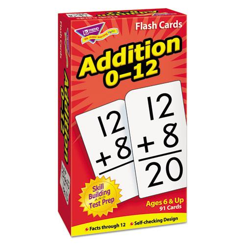 Skill Drill Flash Cards, 3 x 6, Addition | by Plexsupply