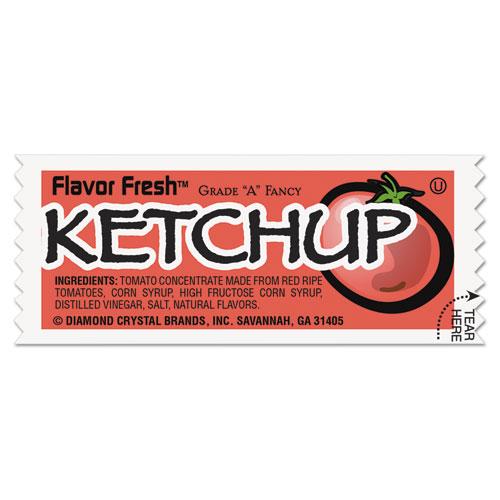 Flavor Fresh Ketchup Packets, .317oz Packet, 200/Carton