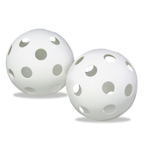 Plastic Baseballs, 9, White, 12/Set