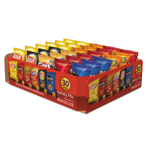 Frito-Lay Classic Variety Mix, Assorted, 30 Bags/Box