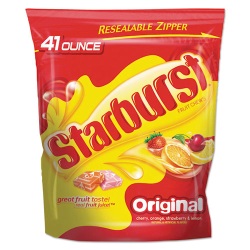 Starburst® Fruit Chews Candy, 2lbs 9oz Bag, Original