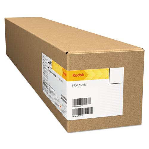 """Kodak Professional Inkjet Photo Paper Roll, Metallic, 10.9 mil, 24"""" x 100 ft"""