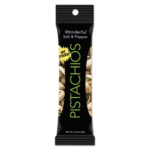 Wonderful Pistachios, Dry Roasted & Salted, 5 oz, 8/Box