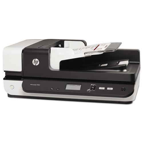 Scanjet Enterprise Flow 7500 Flatbed Scanner, 600 dpi Optical Resolution, 100-Sheet Duplex Auto Document Feeder