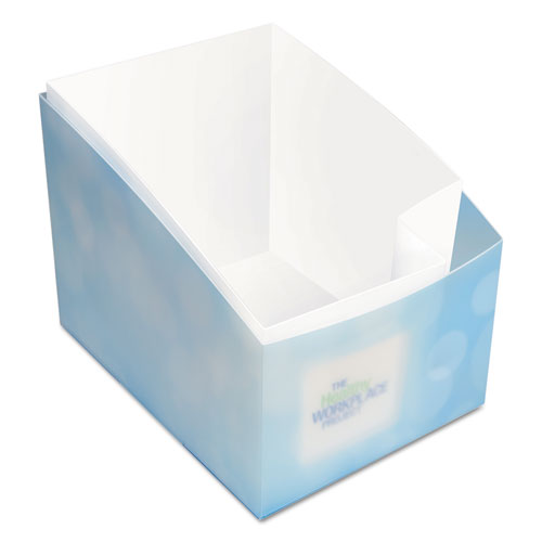 "Desk Caddy, 11 8/10"" x 6 9/10"" x 11 3/10"", Blue, 24/Carton"