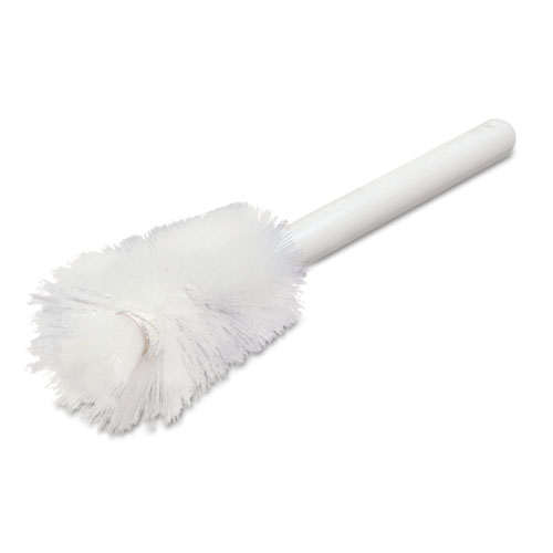 "Carlisle Sparta Handle Bottle Brush, Pint, 12"", White"