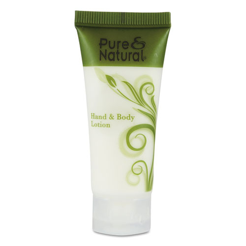 Pure & Natural™ Hand & Body Lotion, 0.75 oz, 288/Carton