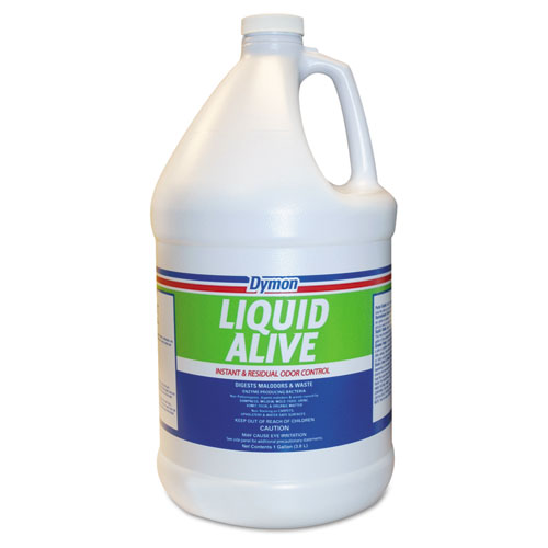 LIQUID ALIVE Odor Digester, 1 gal Bottle, 4/Carton | by Plexsupply