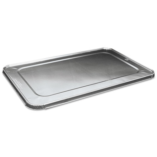 Full Size Aluminum Steam Table Pan Lid, Deep, 50/Carton