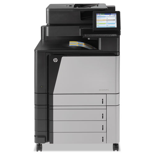 Color LaserJet Enterprise Flow M880z Wireless MFP, Copy/Fax/Print/Scan