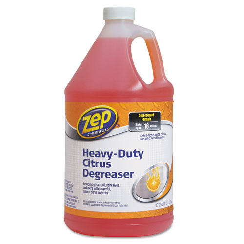 Zep Commercial® Citrus Cleaner and Degreaser, Citrus Scent, 1 gal Bottle