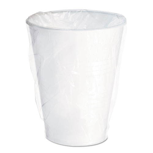 Conex Galaxy Polystyrene Plastic Cold Cups, 9 oz, Individually Wrapped, 1000/Ct WY9LT
