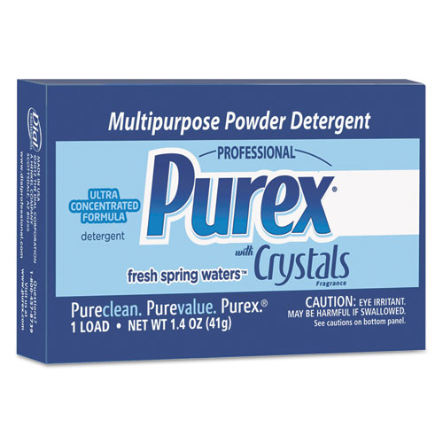 Purex® Ultra Concentrated Powder Detergent, 1.4 oz Box, Vend Pack, 156/Carton
