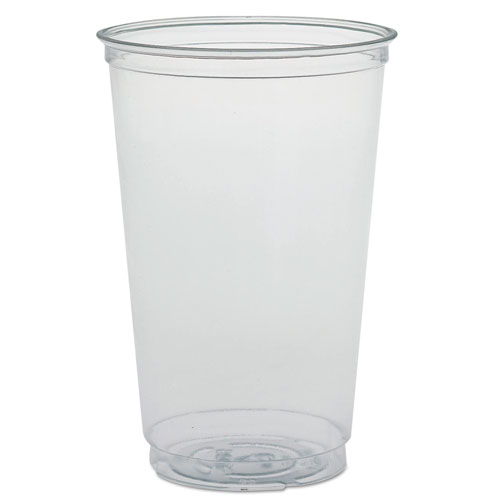 Ultra Clear PETE Cold Cups, 20 oz, Clear TN20