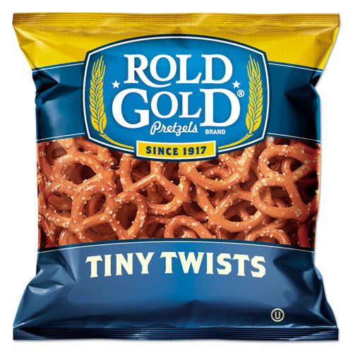 Rold Gold® Tiny Twists Pretzels, 1 oz Bag, 88/Carton