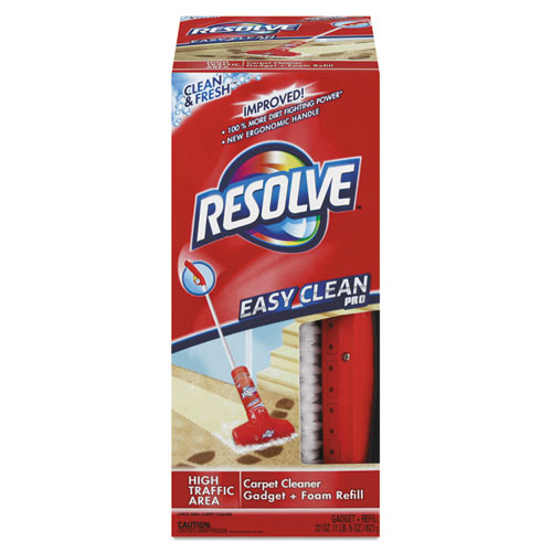 RESOLVE® Easy Clean Carpet Cleaning System W/Brush, Foam, 22 oz